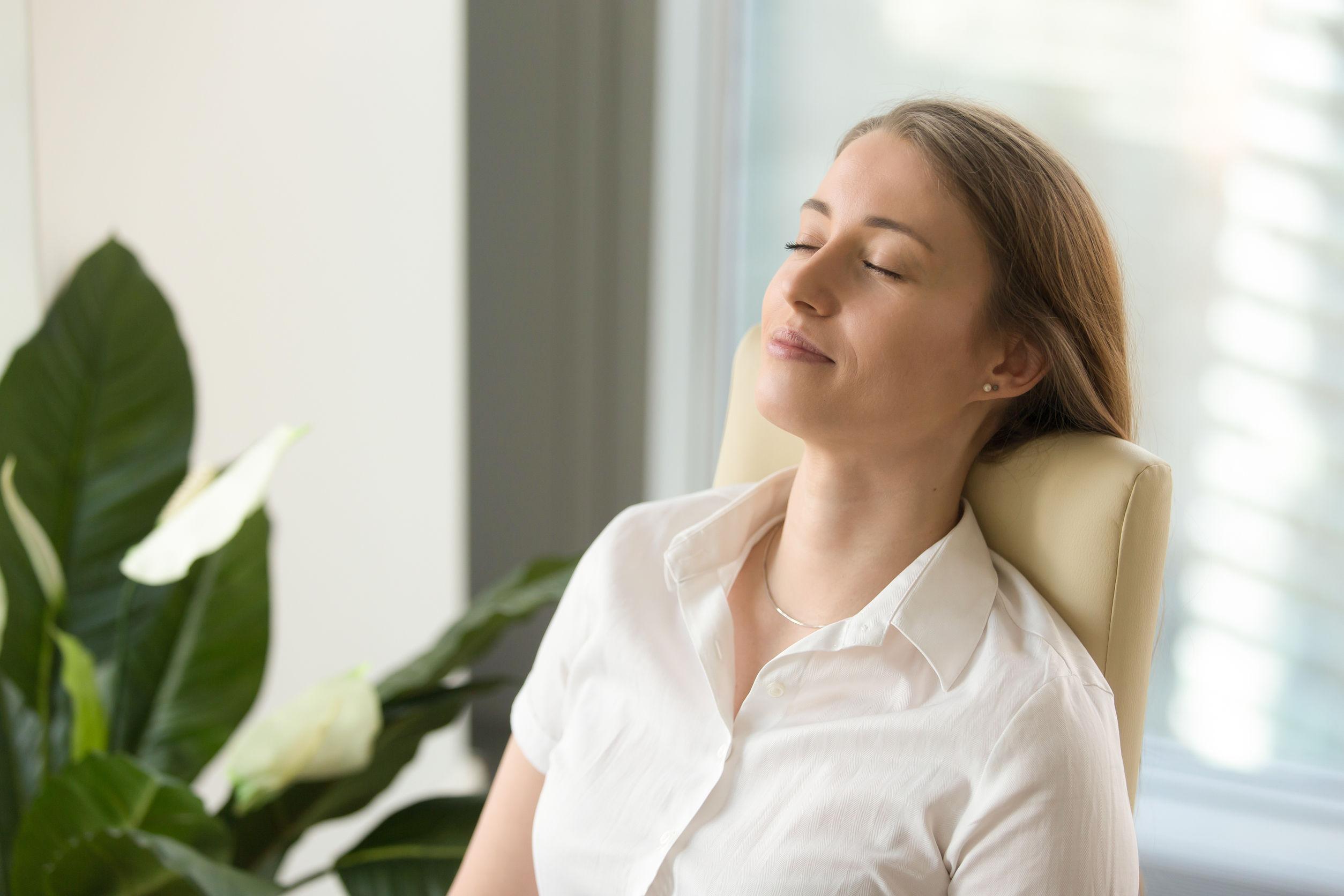 Relaxation par la sophrologie chez soi